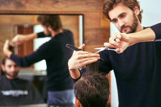 自分の担当の美容師のランクを上げる