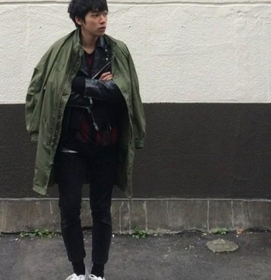 モッズコート,メンズ,似合わない,似合わない人,似合う,日本人,画像