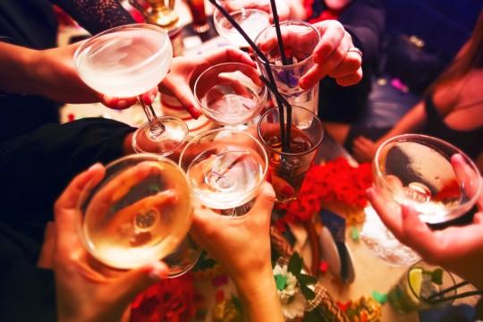 新学期、来る飲み会の日々
