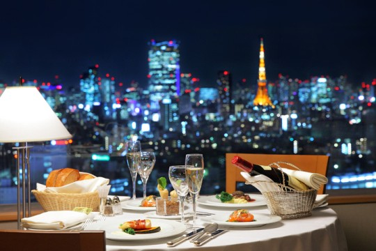 クリスマス,レストラン,夜景,デート,東京,横浜,画像