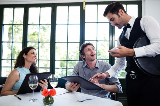https://www.shutterstock.com/ja/image-photo/waiter-taking-order-couple-restaurant-411876775
