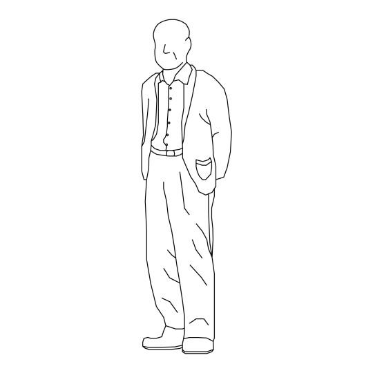 【若者ファッションに小慣れてきた方へ】シニアファッションに挑戦!!