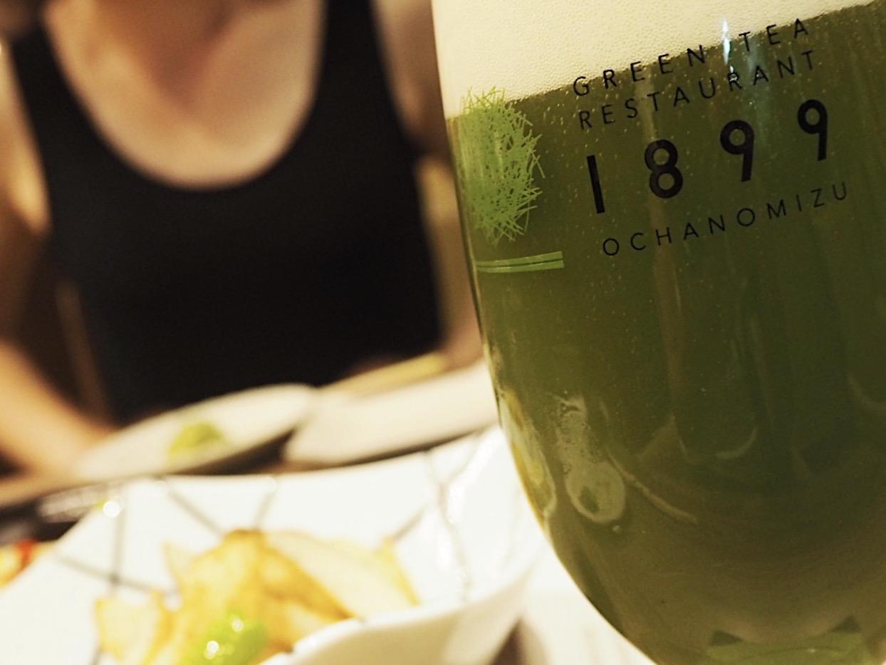 【抹茶好きな女子とはココへ】夏の期間限定!抹茶ビアガーデン
