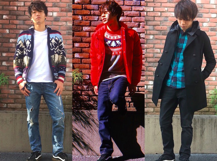AMERICAN EAGLE OUTFITTERS着こなし