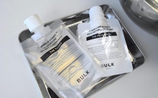 毎日の肌ケアが男をつくる。BULK HOMME で始める基本のスキンケア