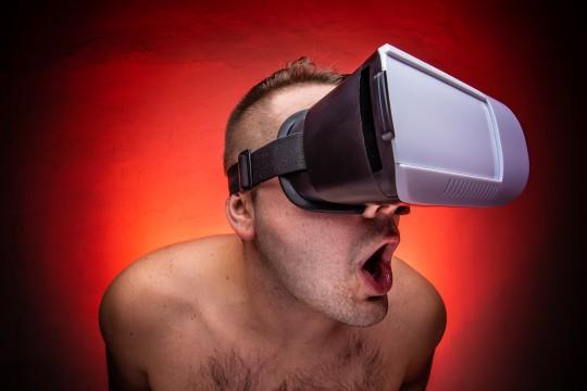 VRのAVが人気!