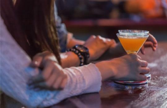 Pubで出会った41歳の女性